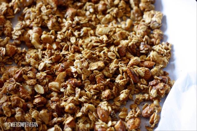 Gluten-Free Almond Butter Granola 2